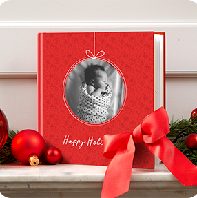 Baby's First Christmas Photo Book