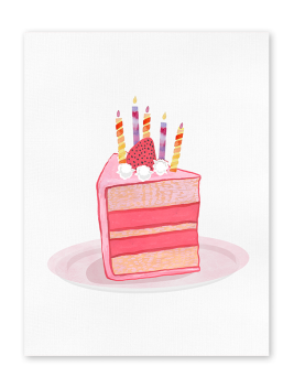 Touchnote birthday greeting card