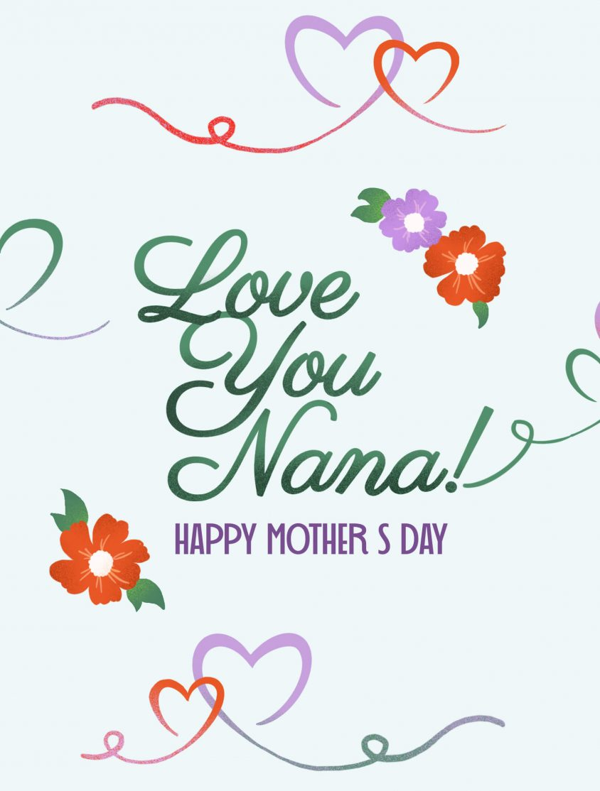 Grandma Mothers Day Card