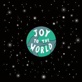 Joy to the world card