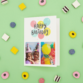 Personalised Card Birthday