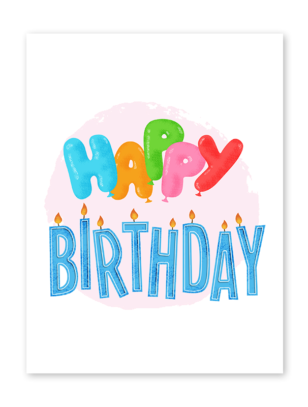 Touchnote special birthday cards