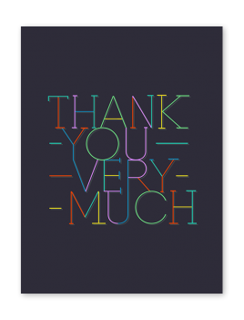 Touchnote custom thank you cards